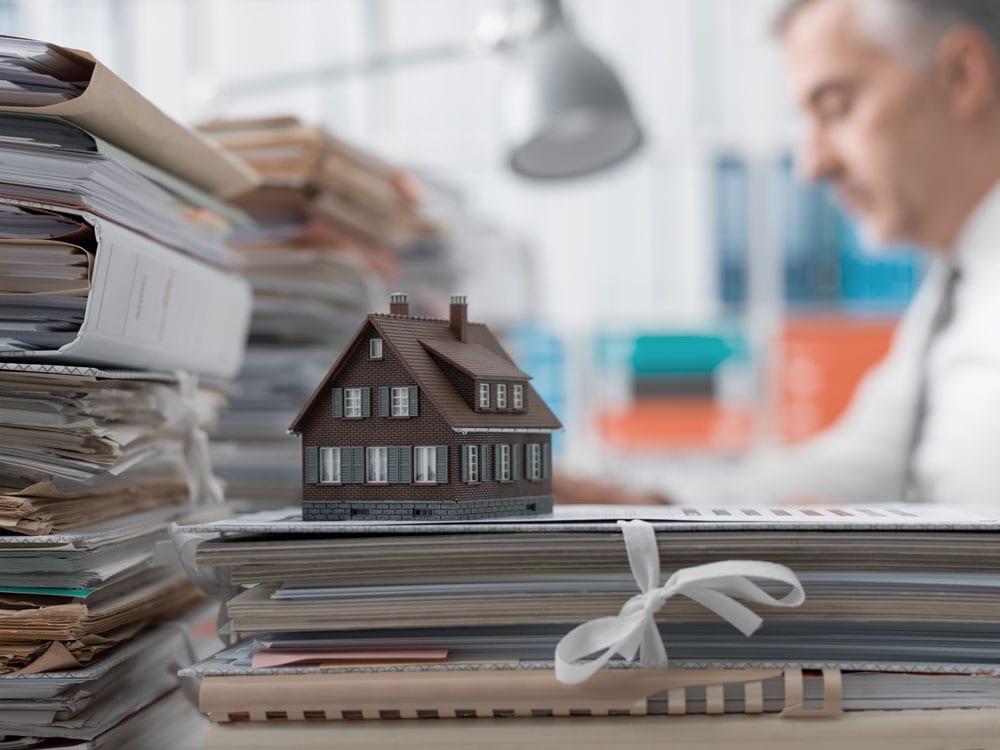 Unterlagen bei Hausverkauf
